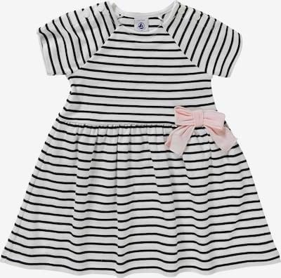 PETIT BATEAU Kleid in rosa / schwarz / weiß, Produktansicht