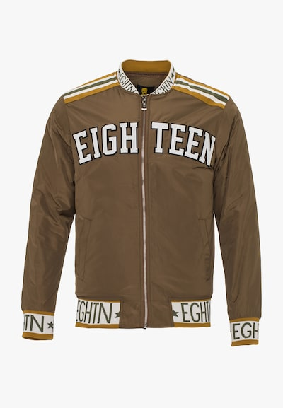 PLUS EIGHTEEN Blouson in braun, Produktansicht