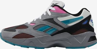 Reebok Classic Sneakers laag in de kleur Grijs / Donkergroen / Donkerrood, Productweergave