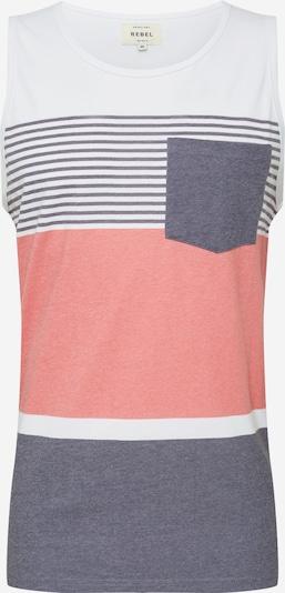 Redefined Rebel T-Krekls pieejami zils / rožkrāsas / balts, Preces skats