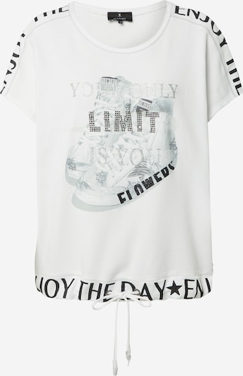 Bluză de molton monari pe gri / culori mixte / offwhite, Vizualizare produs