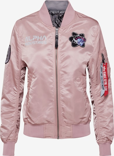 ALPHA INDUSTRIES Jackе 'MA-1 Moon Landing' in rosa, Produktansicht