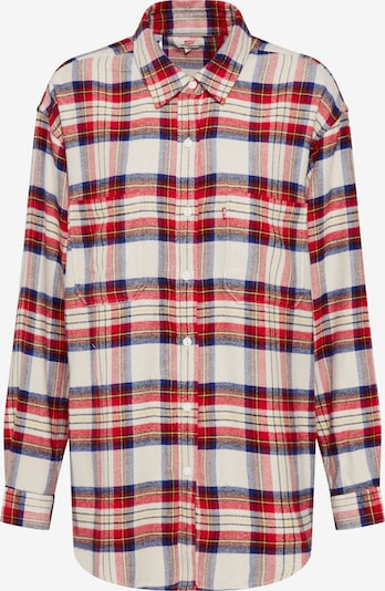 LEVI'S Blouse 'THE UTILITY' in de kleur Rood / Wit, Productweergave
