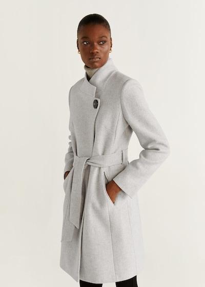 MANGO Přechodný kabát 'Tierra6' - světle šedá, Model/ka