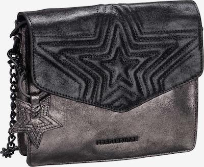 FREDsBRUDER Handtasche ' Tucana ' in grau / schwarz: Frontalansicht