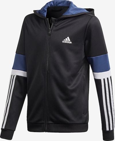 ADIDAS PERFORMANCE Kurtka sportowa w kolorze gołąbkowo niebieski / czarny / białym, Podgląd produktu