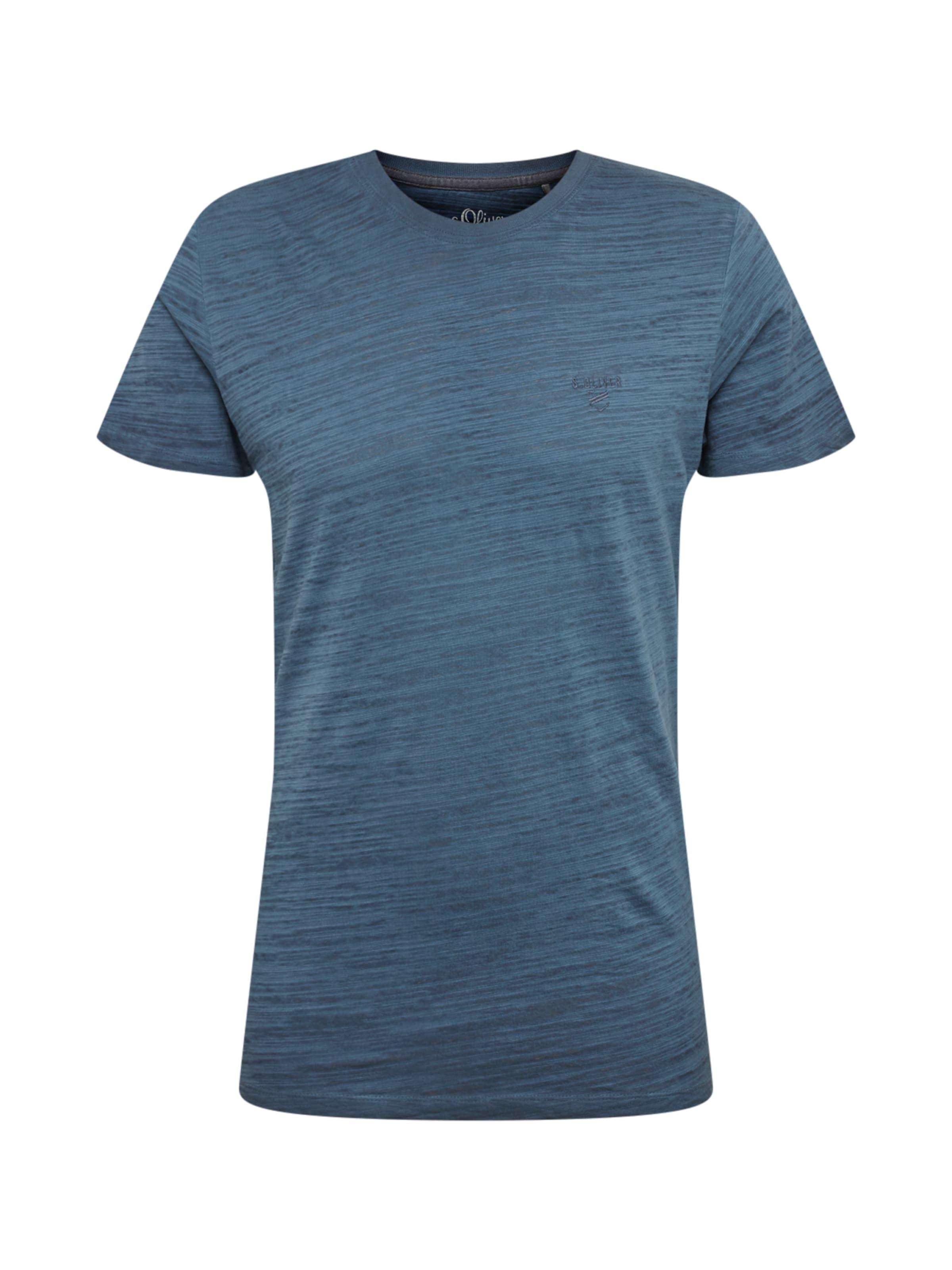 Label Bleu shirt T Foncé oliver Red En S 0wvOmNn8