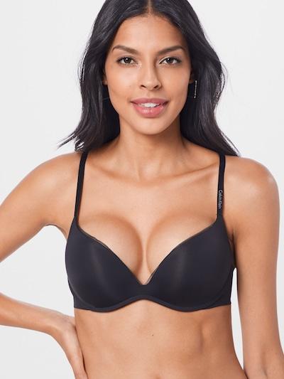 fekete Calvin Klein Underwear Melltartó 'PLUNGE': Elölnézet