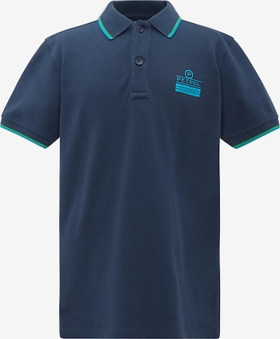 Petrol Industries Shirt in marine / neonblau, Produktansicht