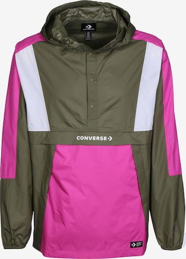 CONVERSE Windbreaker ' Packable Hooded ' in rosa, Produktansicht
