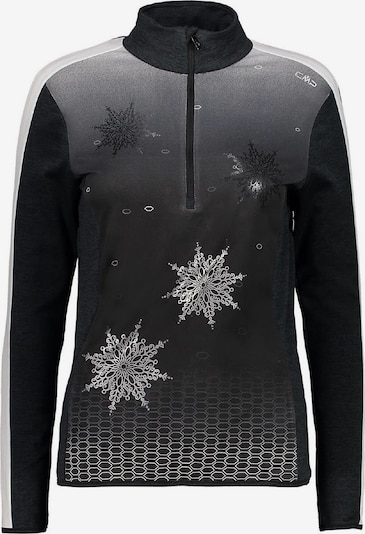 CMP Shirt in grau / schwarz, Produktansicht