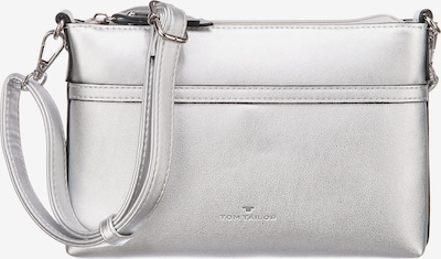 TOM TAILOR Clutch 'Savona' in silber, Produktansicht