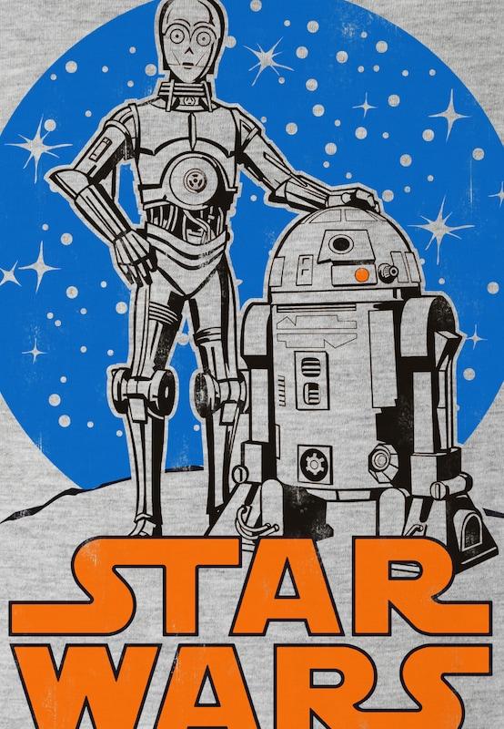 "LOGOSHIRT T-Shirt ""R2-D2 & C-3PO"""