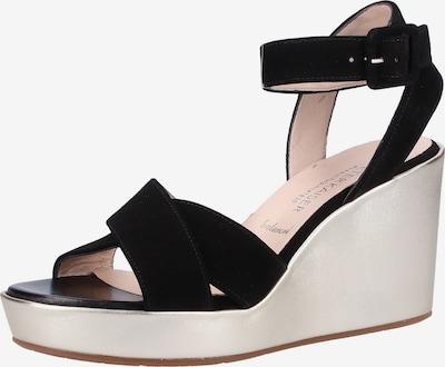PETER KAISER Sandalen met riem in de kleur Zwart, Productweergave