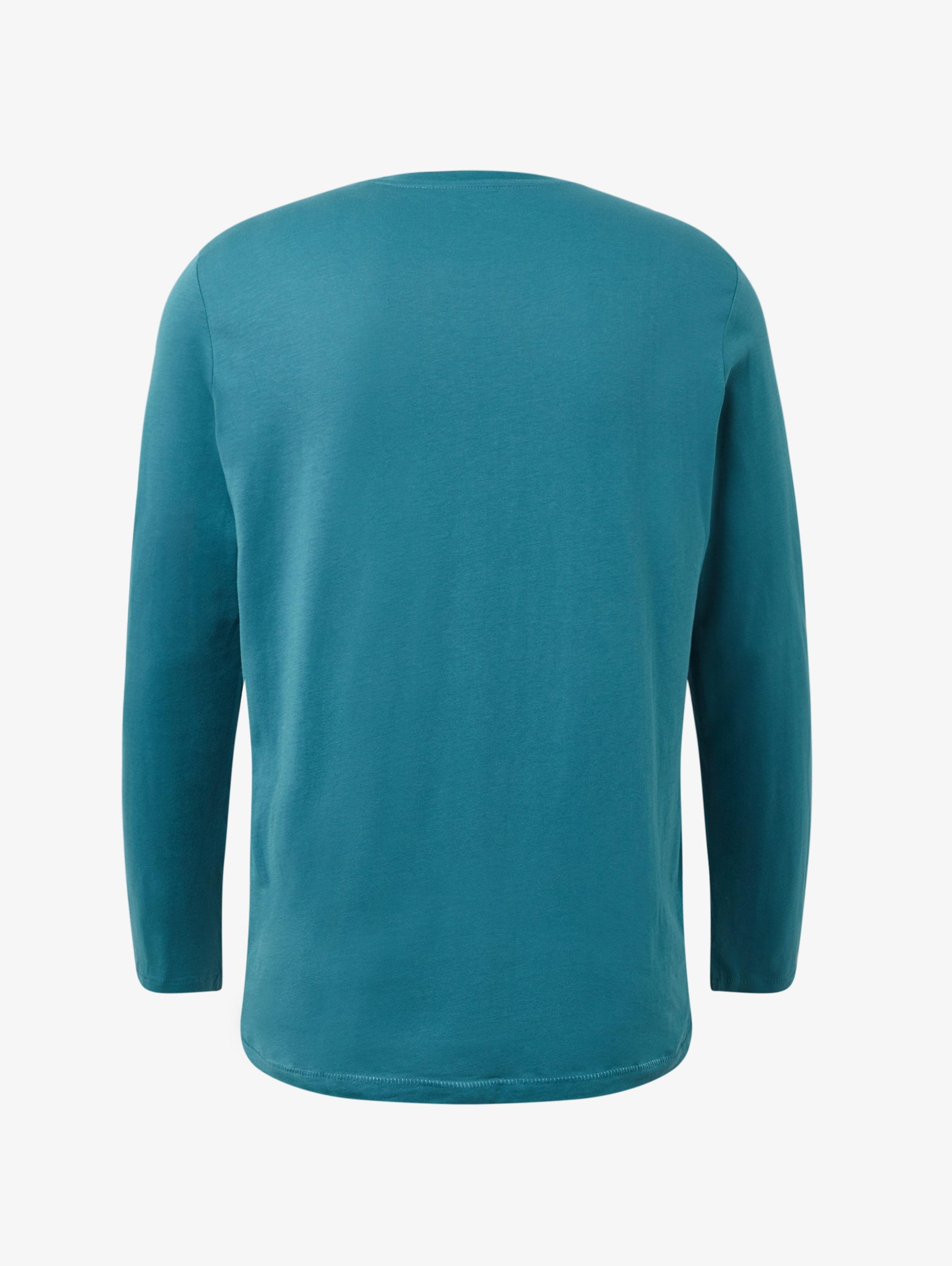 Langarmshirt In Blau Tom Tailor jL5AR4