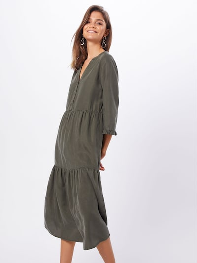 Noisy may Kleid 'NMENDI LONG DRESS' in oliv, Modelansicht