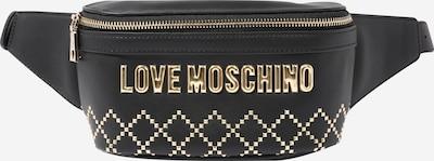 Love Moschino Gürteltasche 'Borsa' in gold / schwarz, Produktansicht