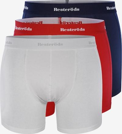 Resteröds Boxerky - námořnická modř / červená / bílá, Produkt