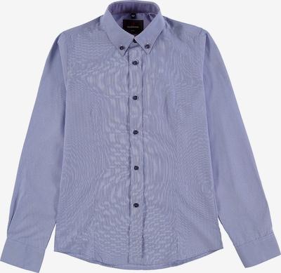 G.LEHMANN Langarmhemd in blau, Produktansicht
