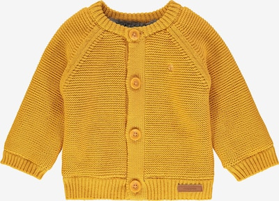 Noppies Strickjacke 'Lou' in goldgelb: Frontalansicht