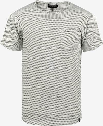 INDICODE JEANS Rundhalsshirt 'Albin' in grau / grün, Produktansicht