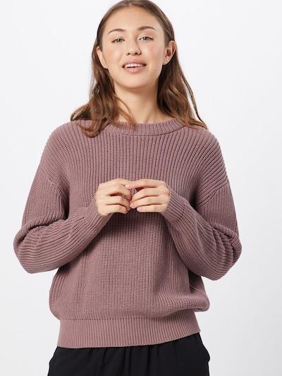 minimum Pullover 'Mikala' in rosa, Modelansicht