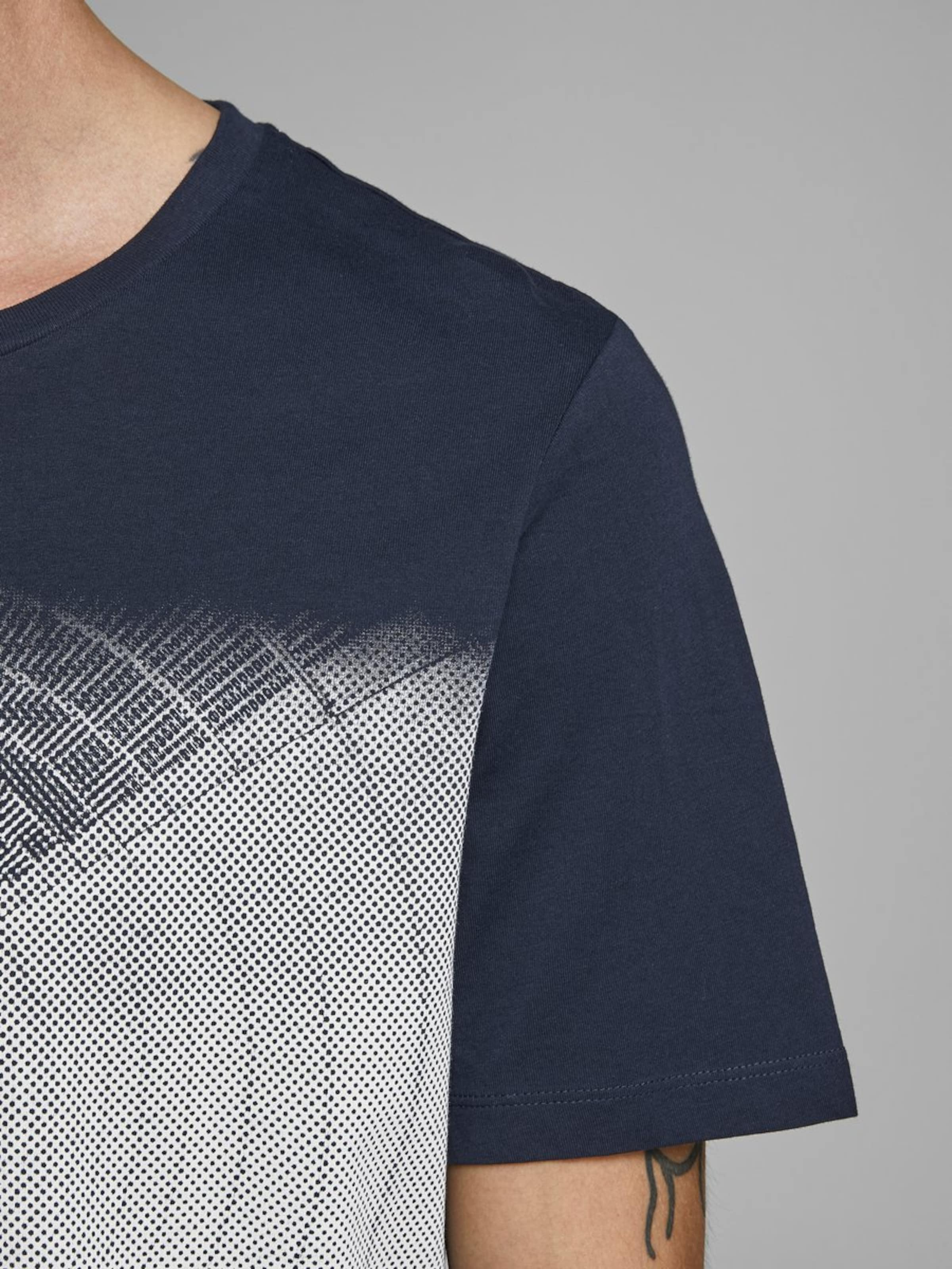 Weiß In NachtblauGraumeliert shirt Jackamp; T Jones 76fYvbgy