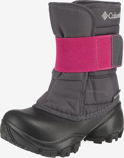 COLUMBIA Winterstiefel 'Rope Tow™ Kruser 2' in grau / pink: Frontalansicht
