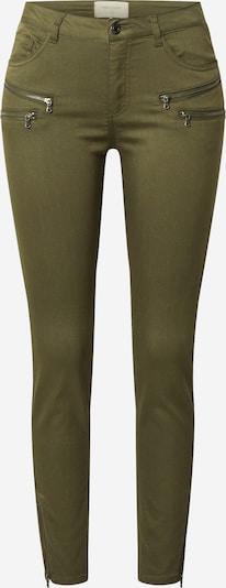Freequent Pantalon 'Aida' en olive, Vue avec produit