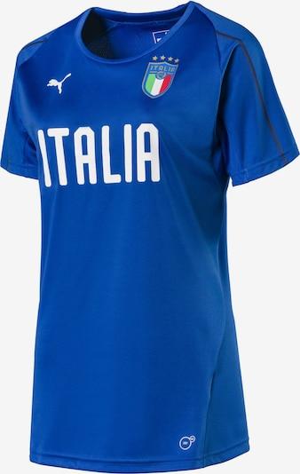 PUMA Trainingstrikot 'Italia' in blau / weiß, Produktansicht