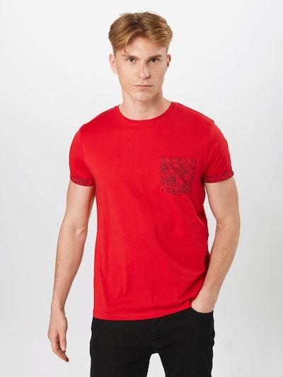 sötétkék / piros ESPRIT Póló: Elölnézet