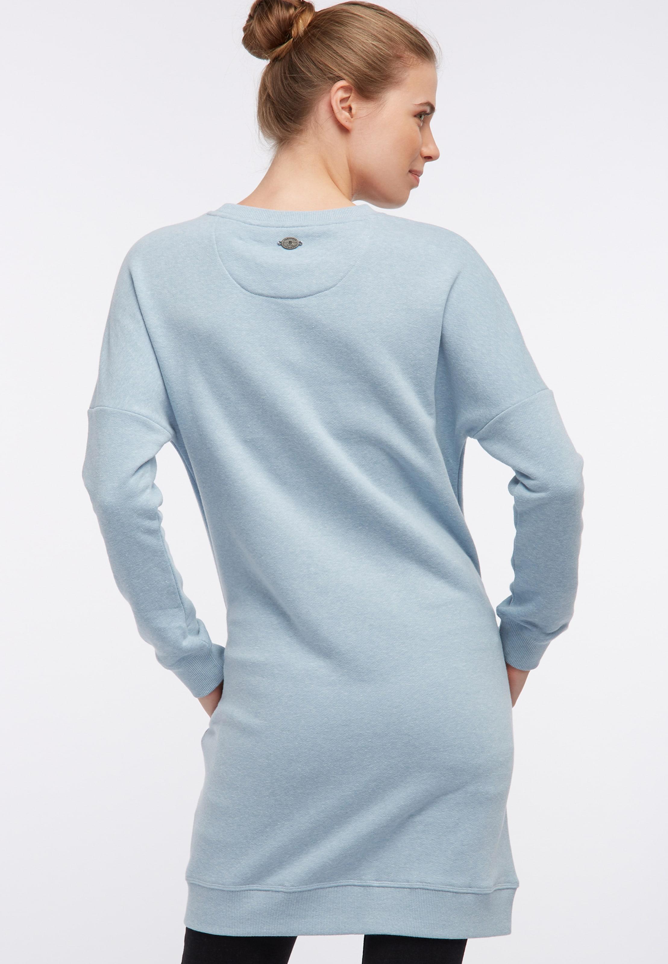 Dreimaster Dreimaster Kleid In Kleid In Hellblau Hellblau k08OPwnX