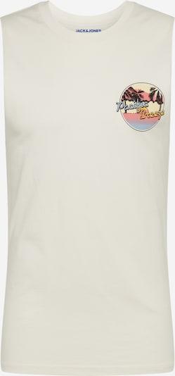 Tricou JACK & JONES pe alb, Vizualizare produs