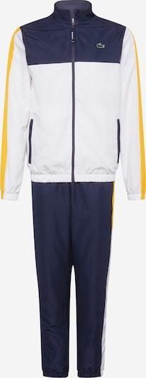 Lacoste Sport Sport-Anzug 'Taffetas Diamante' in marine / gelb / offwhite, Produktansicht