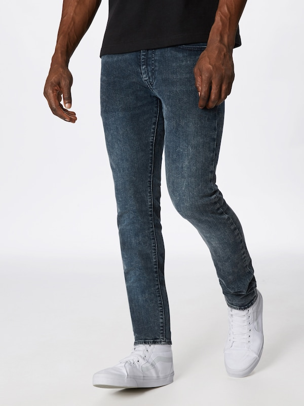 LEVI'S Jeans '519™' in blue denim: Frontalansicht