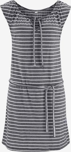 VENICE BEACH Strandkleid in graphit / weiß, Produktansicht