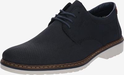 Pantofi cu șireturi RIEKER pe albastru noapte / alb, Vizualizare produs