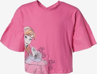 DISNEY T-Shirt 'Die Eiskönigin' in mischfarben / pink, Produktansicht