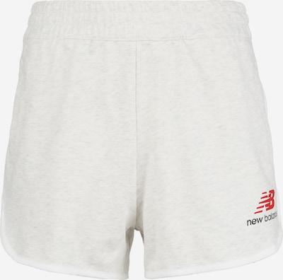 new balance Pantalon de sport en blanc chiné, Vue avec produit