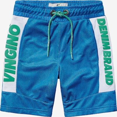VINGINO Shorts RAAS für Jungen in türkis / royalblau / weiß, Produktansicht