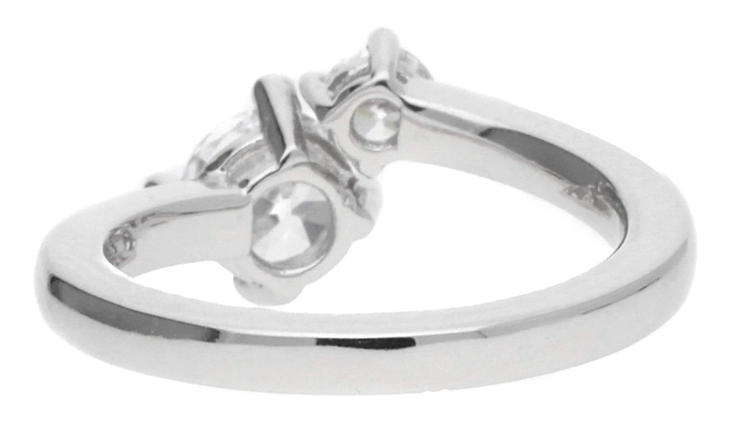 ESPRIT Damen Fingerring 925 Silber Silber Svelte Sparkle ESRG92139A Verkauf Erstaunlicher Preis pRD3VIJD