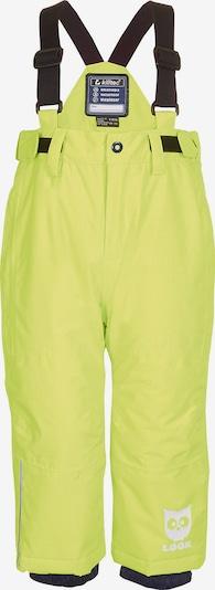 KILLTEC Skihose 'Jordy' in gelb / schwarz, Produktansicht