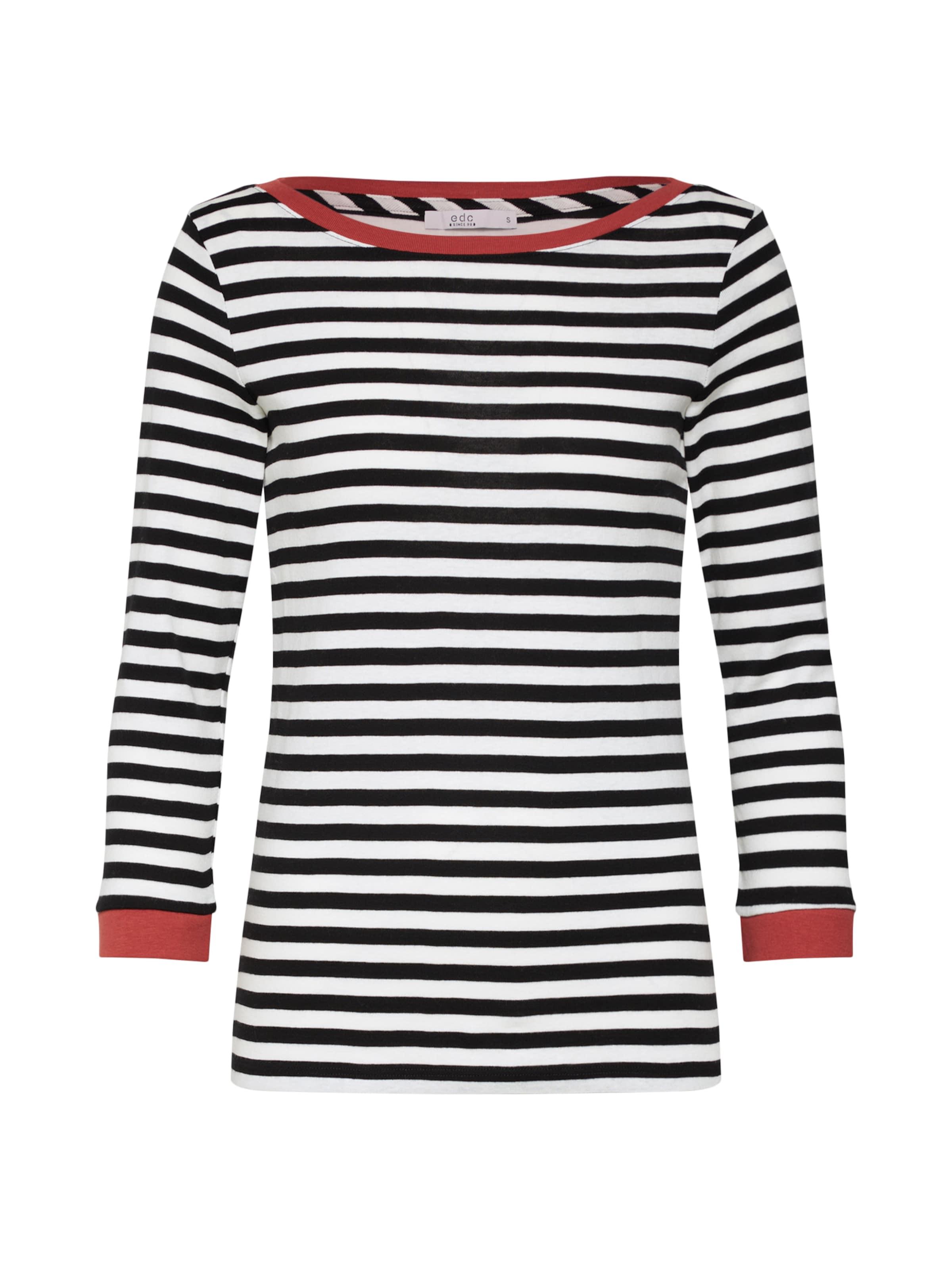 T shirt By Esprit Edc En NoirBlanc uKcFJl3T15