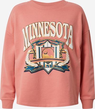 JACQUELINE de YONG Sweatshirt 'JDYVIENNA LIFE L/S PRINT SWEAT JRS' in de kleur Pink / Rosa, Productweergave
