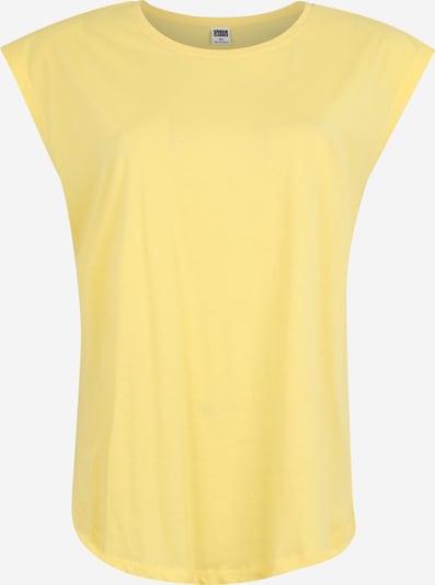 Tricou Urban Classics Curvy pe galben, Vizualizare produs