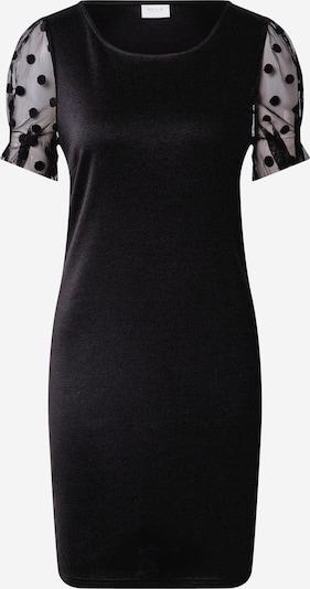 VILA Jurk 'Tinny' in de kleur Zwart: Vooraanzicht