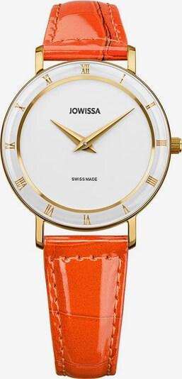 JOWISSA Quarzuhr 'Roma' in orange, Produktansicht