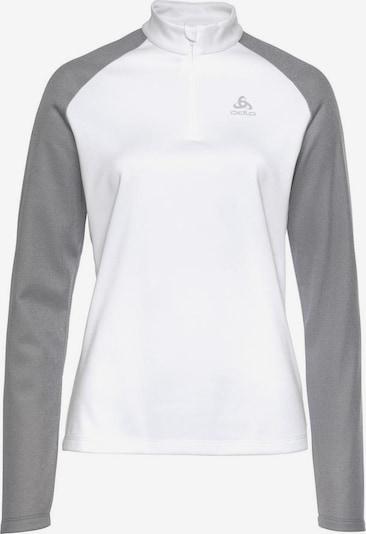 ODLO Funktionsshirt 'Planches' in grau / weiß, Produktansicht