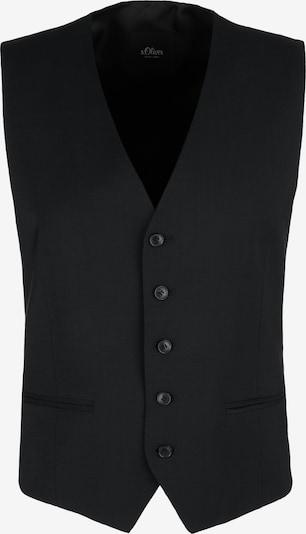 s.Oliver BLACK LABEL Weste in schwarz, Produktansicht