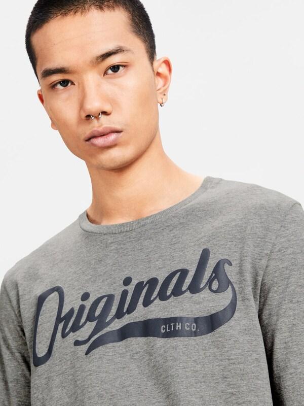 JACK & JONES Klassisches T-Shirt mit langen Ärmeln